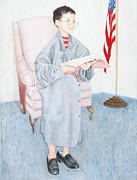 In God We Trust Print by Karen Brannon