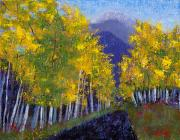Missing Paintings - In Love with Fall River Road by Margaret Bobb