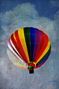 Bright Colors Art - In Mid Flight by Kathy Jennings