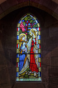 Stained Glass Window Photos - In Piam Memoriam by Ian Mitchell