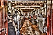 In Service Mission San Antonio De Pala By Diana Sainz Print by Diana Sainz