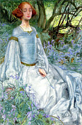Eleanor Prints - In Spring Time The Only Pretty Ring Time Print by Eleanor Fortescue Brickdale