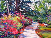 Robert Gerdes - In the Azalea Garden