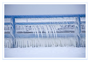 Icicles Prints - In The Bleak Midwinter Print by John Stephens