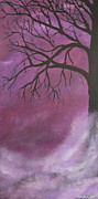 Fantasy Tree Art Print Posters - In The Distance Poster by Christie Minalga