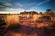 Uluru Photos - In the heart of Oz by Matteo Colombo