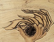 Holy Pyrography Prints - In the Palm of Our Hands Print by Cheret Adar