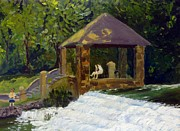In The Park Print by Rick Carbonell