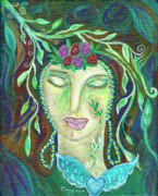 Goddess Of Beauty Posters - In the Stillness Poster by Carey Waters
