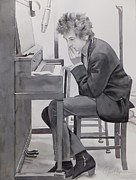 Dylan Paintings - In The Studio by Robert Hooper