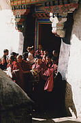 First Star Art Photos - In Tibet Tibetan Monks 5 by jrr by First Star Art