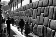 Daily Life Photos - Inca street Cusco by James Brunker