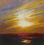 Cape Cod Pastels Originals - Incandescence by Ed Chesnovitch