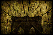 Brooklyn Bridge Digital Art Metal Prints - Incarceration Metal Print by Andrew Paranavitana