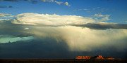 Escalante Grand Staircase Art - Incoming Storm by Andrew Soundarajan