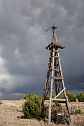 Best Sellers Prints - Incoming Storm on the High Plains Vertical Print by Melany Sarafis