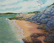 Janet Glatz - Incoming Tide at Popham...