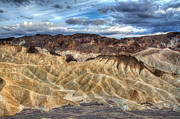 Most Photo Framed Prints - Incredible Zabriskie point in Death Valley Framed Print by Pierre Leclerc
