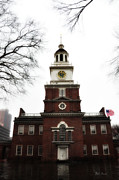 Independence Digital Art Prints - Independence Hall Philadelphia Print by Bill Cannon