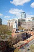 Philadelphia Photo Prints - Independence Hall Philadelphia Print by Kay Pickens