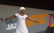 Festivals Of India Photos - India Arie Dancing by Craig Lovell