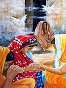 India Rising -- The Found Print by Carol Allen Anfinsen