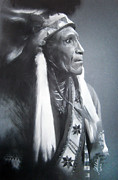 Indian Pastels Prints - Indian Apache IV Print by Sujith Puthran
