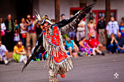 New Mexico Prints - Indian Eagle Dancer Print by Tony Lopez