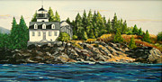 Janet Glatz - Indian Island Lighthouse