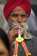 Andy Fletcher - Indian Man with Toy