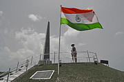 Honour Originals - Indian National Flag at War Memorial by Bhaswaran Bhattacharya