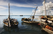 Pirates Photo Originals - Indian Ocean Dhow by Amyn Nasser