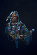 London Print Originals - Indian Portrait by Naushad  Waheed