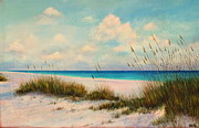 Sand Dunes Paintings - Indian Rock Beach Florida by Gabriela Valencia
