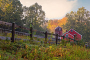 Country Scene Photos - Indian Valley Farm by Bill  Wakeley