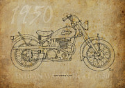 Indian Warrior Tt 1950 Print by Pablo Franchi