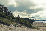 Indiana Dunes Photos - Indiana Dunes Industry  by Amy Lucid
