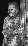 Housewife Art - Indiana Farm Wife  1935 by Daniel Hagerman