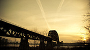 Southern Indiana Art - Indiana KY Bridge by Off The Beaten Path Photography - Andrew Alexander