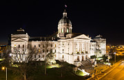 Indianapolis Art - Indiana State Capitol Building by Twenty Two North Photography