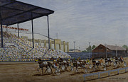 Indiana Art Painting Prints - Indiana State Fair Print by Clifford Cox
