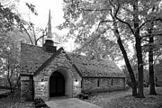 Indiana Images Metal Prints - Indiana University Beck Chapel Metal Print by University Icons