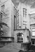 Collegiate Gothic Style Prints - Indiana University Bryan Hall Print by University Icons