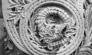 Featured Art - Indiana University Limestone Detail by University Icons
