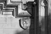 Collegiate Gothic Style Photos - Indiana University Science Detail by University Icons