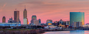 White River Photos - Indianapolis at Sunset by Twenty Two North Photography