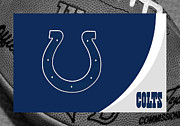 Indianapolis Art - Indianapolis Colts by Joe Hamilton