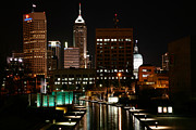 Indiana Scenes Photos - Indianapolis Indiana by Bill Cobb