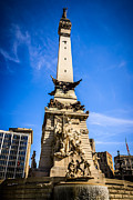Indiana Framed Prints - Indianapolis Indiana Soldiers and Sailors Monument Picture Framed Print by Paul Velgos