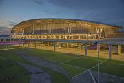 Indianapolis International Airport Print by David Haskett